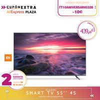 [Offizielle Spanisch version garantie] Xiao mi mi TV Android Smart TV 4S 55 zoll 4K HDR TV bildschirm 2 harte gb + 8 hard gb Dolby DVB-T2