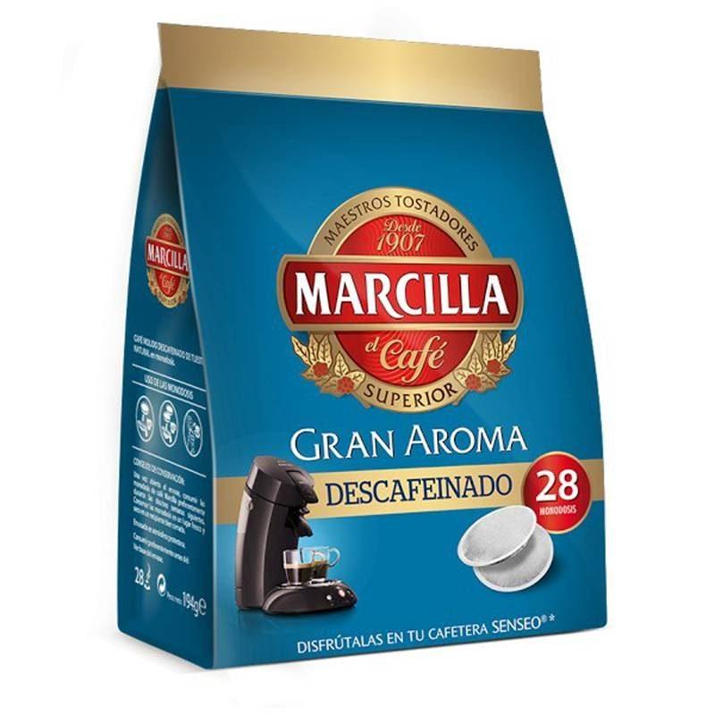 DECAFFEINATED Coffee Marcilla, 28 Pods SENSEO