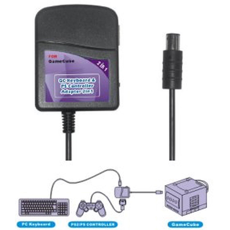 Gamecube Keyboard/Joypad Converter 2-in-1