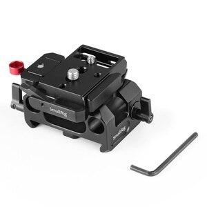 Image 5 - SmallRig płyta fundamentowa zestaw z 15mm zacisk kolejowy dla Blackmagic Design Pocket Cinema kamera BMPCC 4K(Manfrotto 501PL kompatybilny) 2266