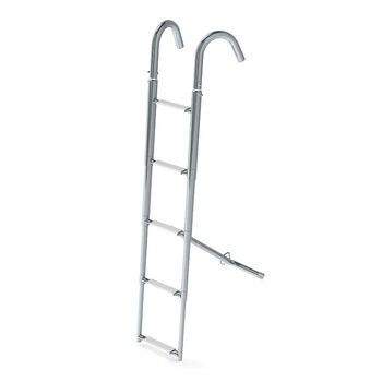 Ladder nasal telescopic 5 steps, White steps
