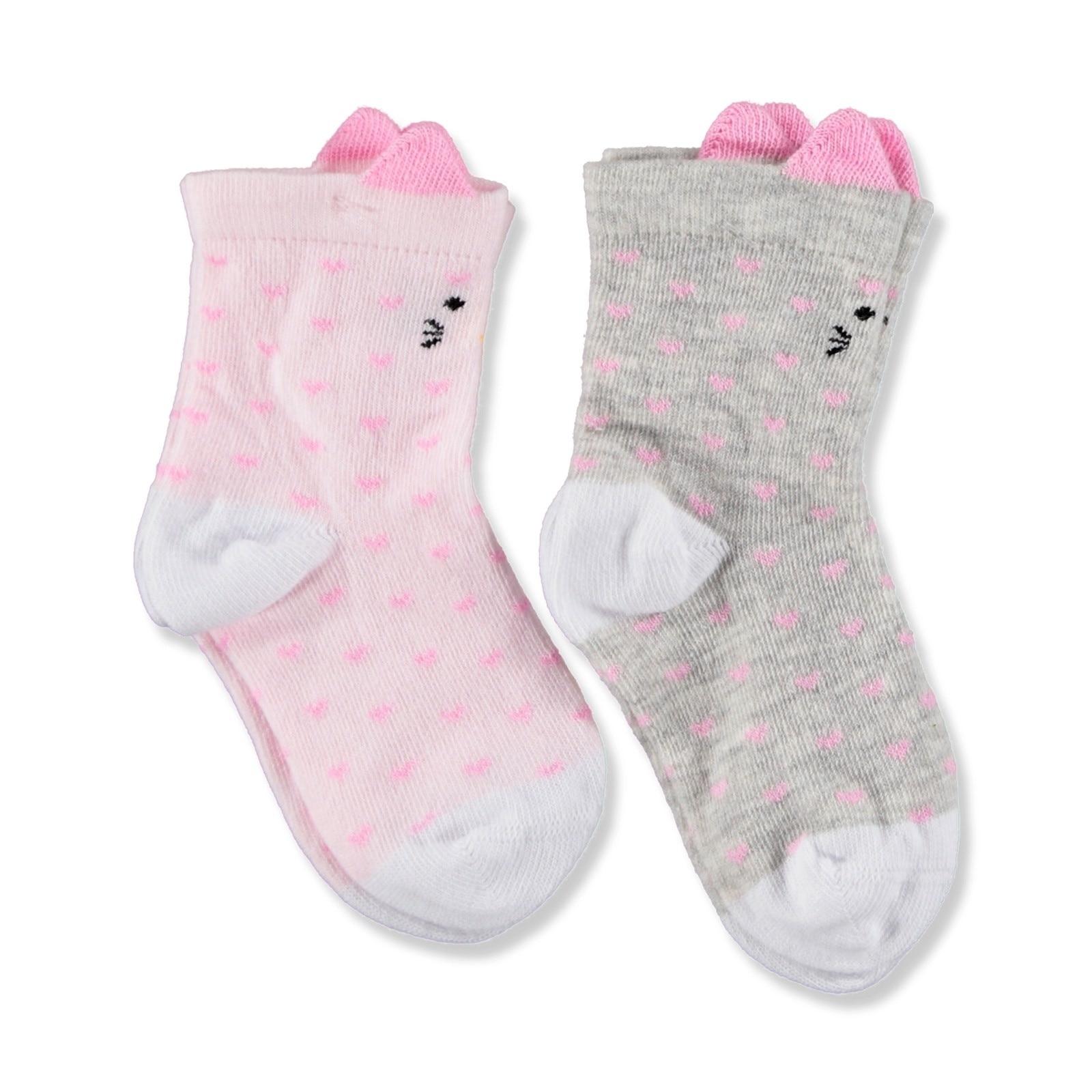 Ebebek Aziz Bebe Baby Socks 2 Pack