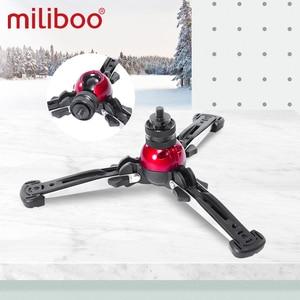"Image 2 - miliboo MTT705 Aluminum Portable Fluid Head Camera Monopod for Camcorder /DSLR Stand Professional Video Tripod 72""Max Height"