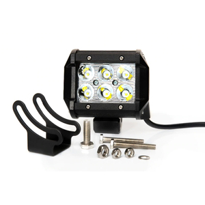 Image 3 - 18 W LED headlight OFF ROAD for auto truck motobike quadbike boat waterproof 4x4 UAZ NIVA tractor trailer SUV hight/low beam