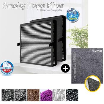 Sanyo ABC-FKH15B, ABC-AR15 / HP14 Air Purifier Compatible Multifunctional Combined Filter And Silver Ion Protective image