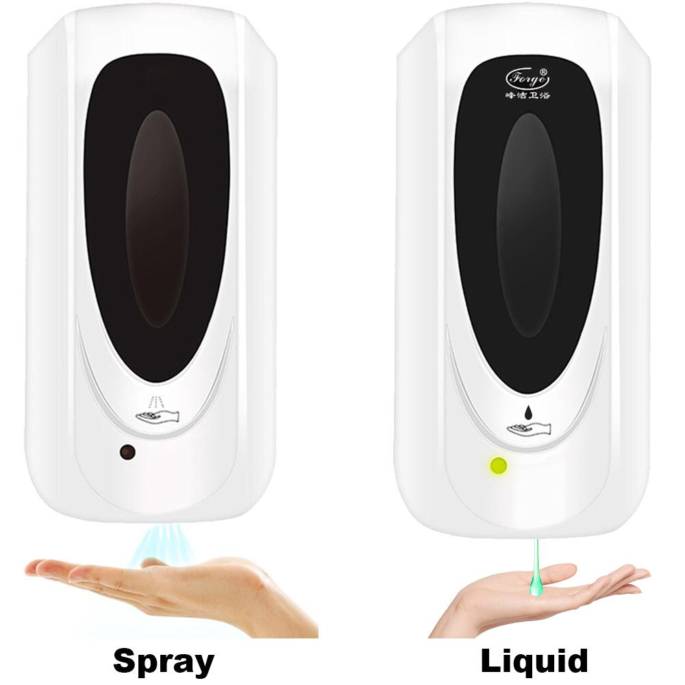 U0da084aeb3564a08a8a7d500acad8064M Hand Sanitizer Touchless Dispenser 1000 mL Sensor Touch Free Hand Sanitizer Dispenser Alcohol Mist Spray Machine