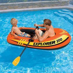 انتكس قارب قابل للنفخ اكسبلورر 200, 185x94x41 سم, up 95кг من 6 سنوات