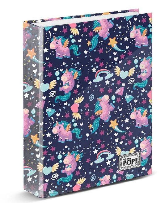 A4 Folder Ooh My Pop Magic Rings 33x28x5 Cm.