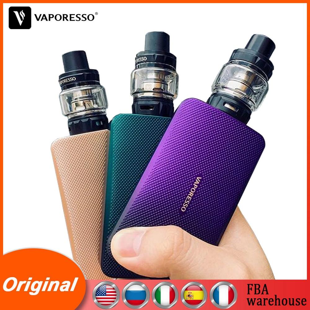 Original Vaporesso Vape Electronic Cigarettes GEN TC Kit 200W With Box Mod 8ml SKRR S Tank Atomizer QF GT Coil Core Vapour E-cig