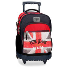 Pepe Jeans backpack compact calvin flag