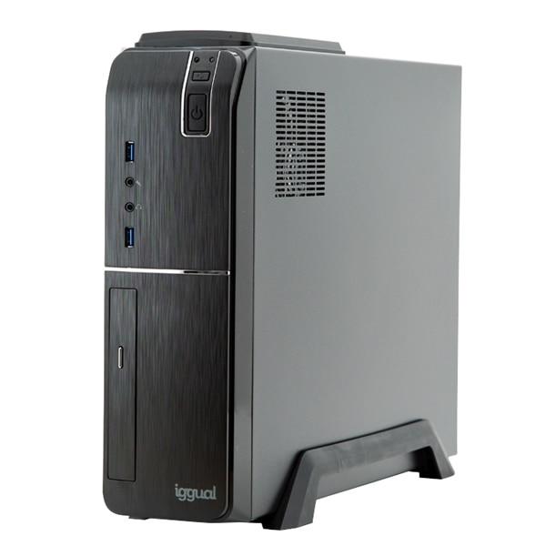 Desktop PC Iggual PSIPC354 I7-9700 16 GB RAM 480 GB SSD W10 Black