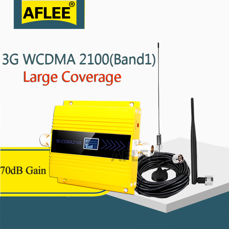 3G Amplifier WCDMA 2100 3g Signal Repeater LTE 2100Mhz 3g 4g Cellular Amplifier UMTS 2100mhz 3G Cell Phone Signal Repeater