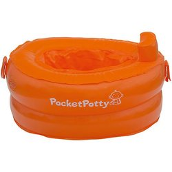 Aufblasbare straße topf PocketPotty austauschbar pakete