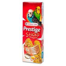 Лакомство для птиц VERSELE-LAGA Prestige палочки для волнистых попугаев с яйцом и ракушечником 2х30г