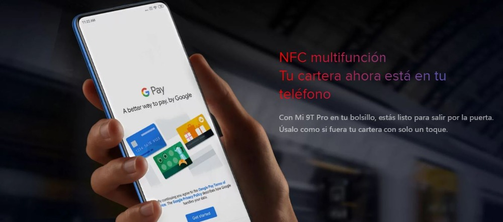 [Global Version for Spain] Xiaomi Mi 9T (Memoria interna de 128GB, RAM de 6GB, Triple cámara de 48 MP) movil