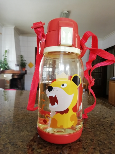 650ml Cartoon Kids Water Bottle With Straw Large Capacity Child Healthy Plastic Sport Travel Bottle|Water Bottles| |  - AliExpress