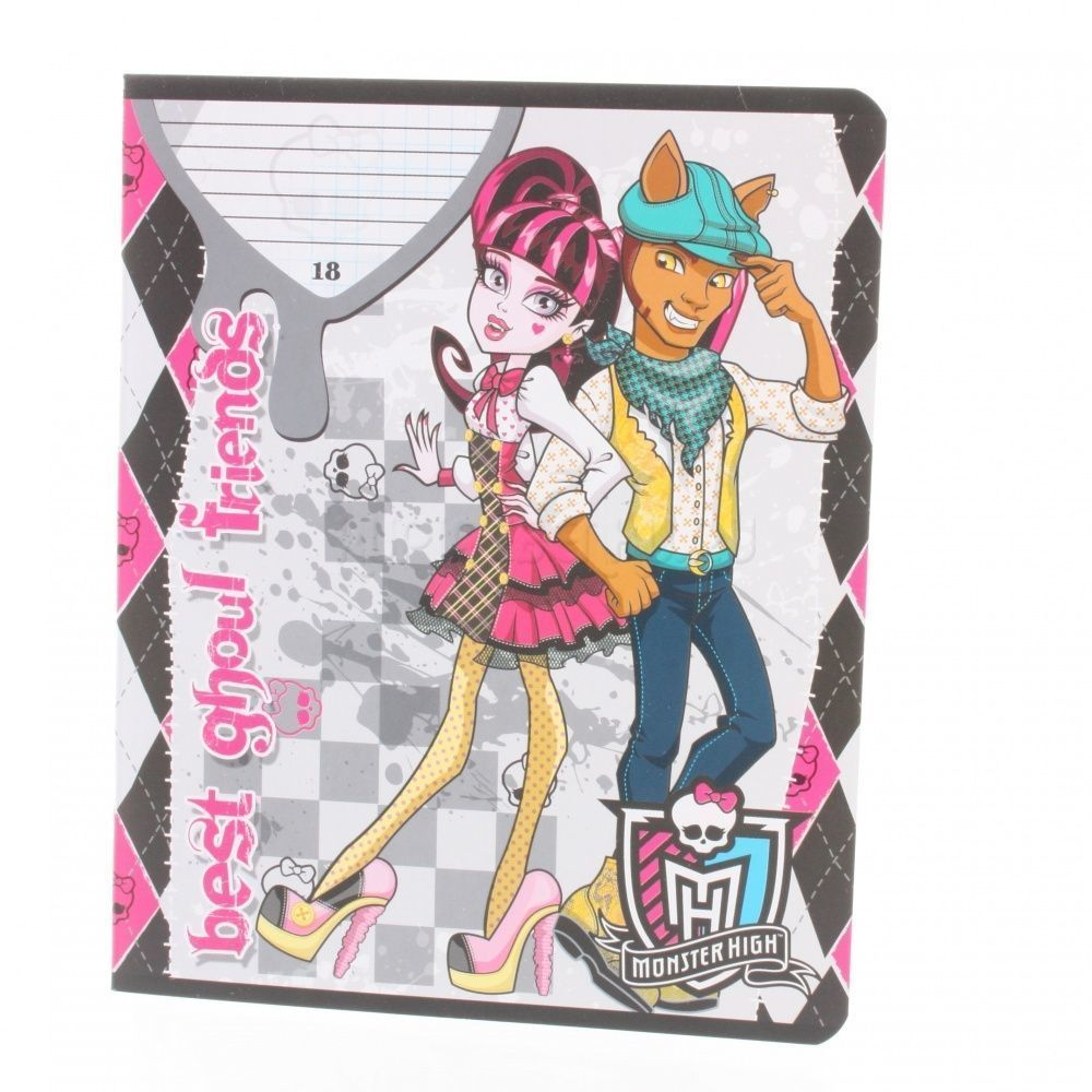 Notebook Monster High 18 sheets line in stock free shipping adm236ljr adm236 sop in stock 5pcs lot ic