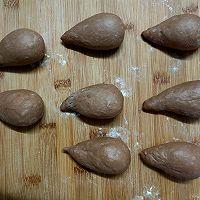 柔软拉丝的巧克力面包卷的做法图解9