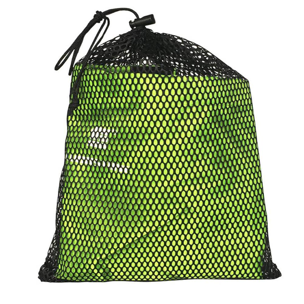 Outdoor Storage Bag Camping Package Ultralight Hanging Mouth Mesh Fabric Stuff Sack Drawstring Storage Bag Travel Bags