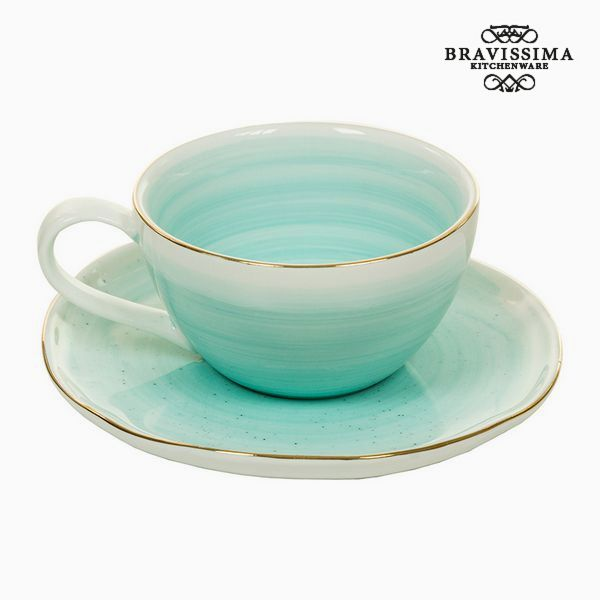 Cup With Plate - Queen Kitchen Collection