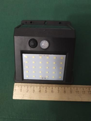 Rechargeable Solar Light 20 30 48 60 96 LED Waterproof PIR Motion Sensor Security Solar Lamp Outdoor Emergency Wall Light
