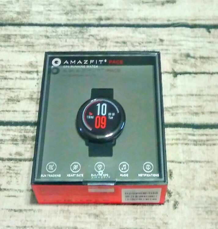 Huami Amazfit Pace Smartwatch Amazfit Smart Watch Bluetooth GPS Information Push Heart Rate Intelligent Monitor-in Smart Watches from Consumer Electronics on AliExpress