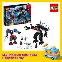 Designer Lego Marvel Super Heroes 76115 Spider-Man vs венома