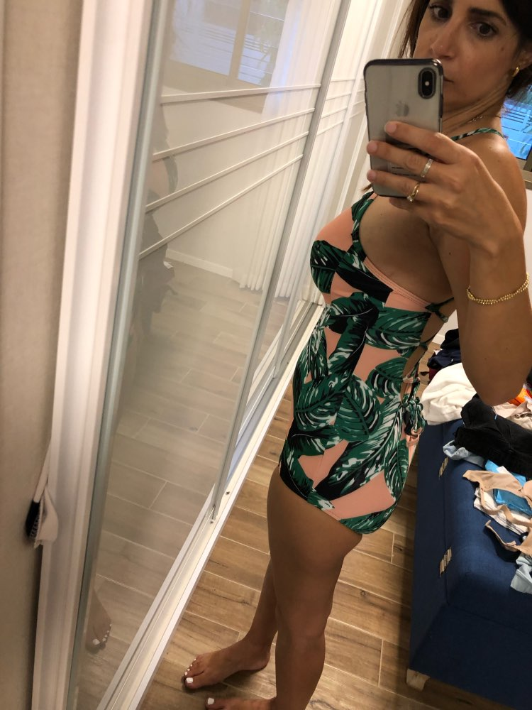 NAKIAEOI 2019 Sexy One Piece Swimsuit Push Up Swimwear Women Bodysuit Print Bandage Beach Wear Bathing Suit Monokini Swimsuit XL-in Body Suits from Sports & Entertainment on AliExpress - 11.11_Double 11_Singles' Day