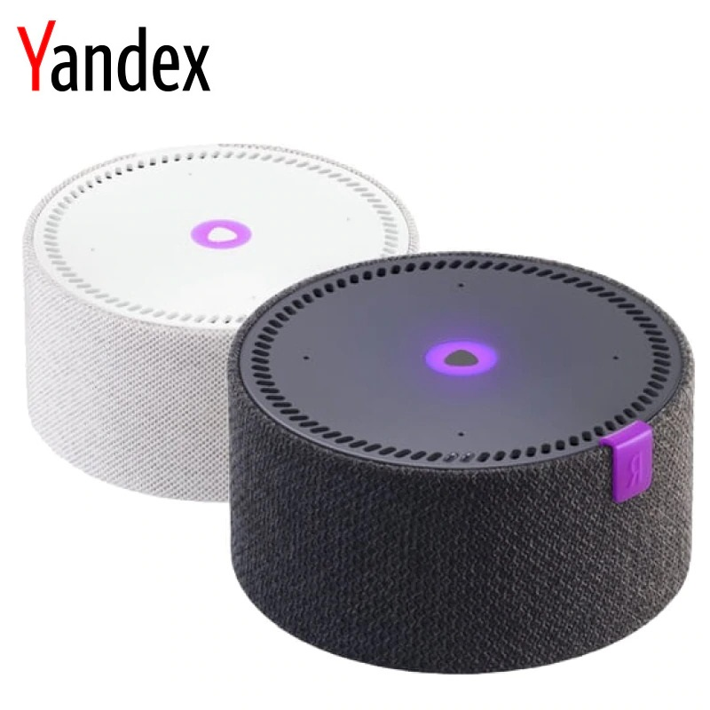 Intelligent column Yandex station mini яндекс.станция smart home smart speaker ecosystem new|AI Speakers| - AliExpress