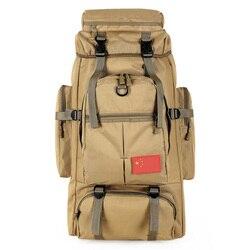 70l 스포츠 군사 배낭 전술 가방 하이킹 배낭 육군 여행 캠핑 배낭 남자 mochila tatica bolsa militar xa829wa