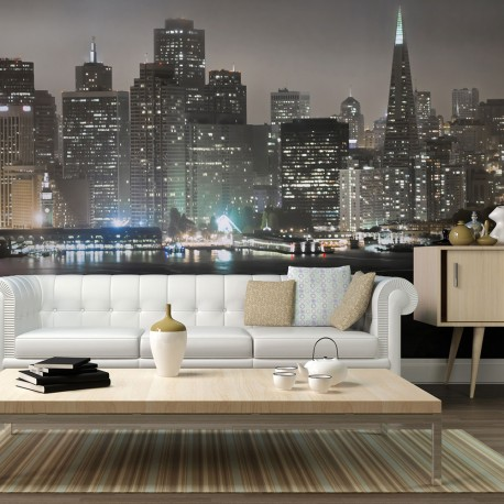 Photo Wallpaper-San Francisco By Night