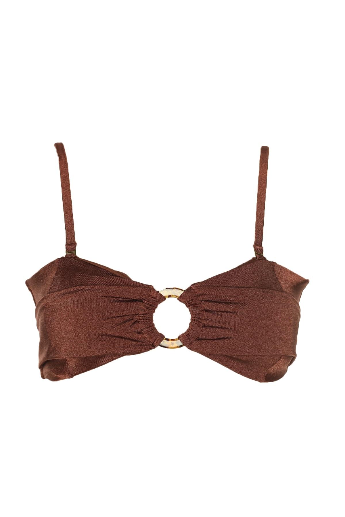 Trendyol Accessorized Bikini Top TBESS20BU0106