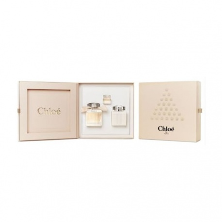 CHLOE SIGNATURE EDP 75ML SPRAY + BODY LOTION 100ML + EDP MINI 5ML