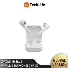 Xiaomi Mi True Wireless Earphones 2 Basic Mi Fones De Ouvido Sem Fio Verdadeira 2 Básico (Branco) [Novo e Selado] fones de ouvido, fones de ouvido