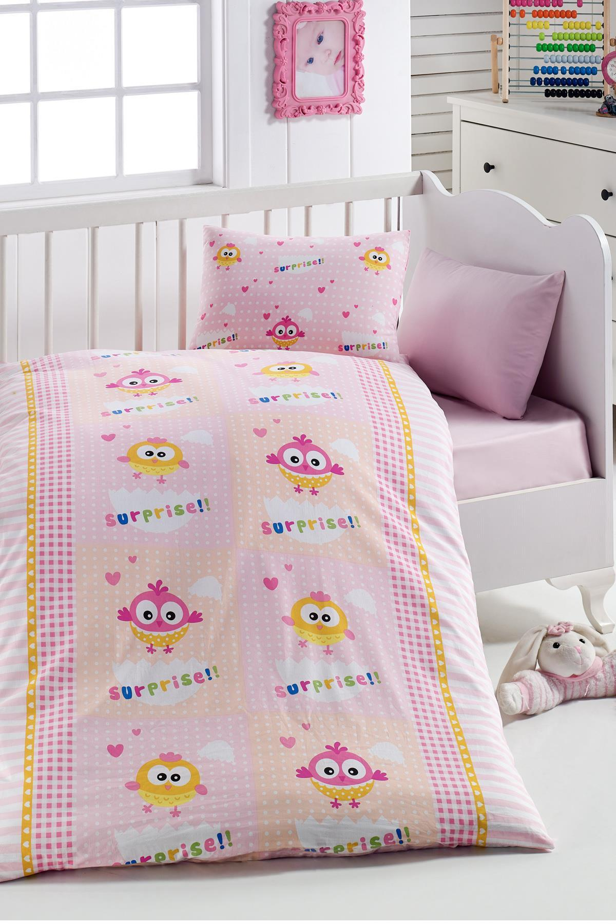 Surprise Egg 7Parça 100 Cotton Baby Sleep Set