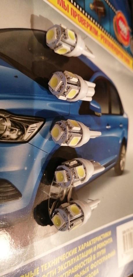 10PCS Led Car Lamp DC 12v Lampada Light T10 5050 Super White 194 168 w5w T10 Led Parking Bulb Auto Wedge Clearance Interior Lamp 12v car led lamp car light10pcs t10 led - AliExpress