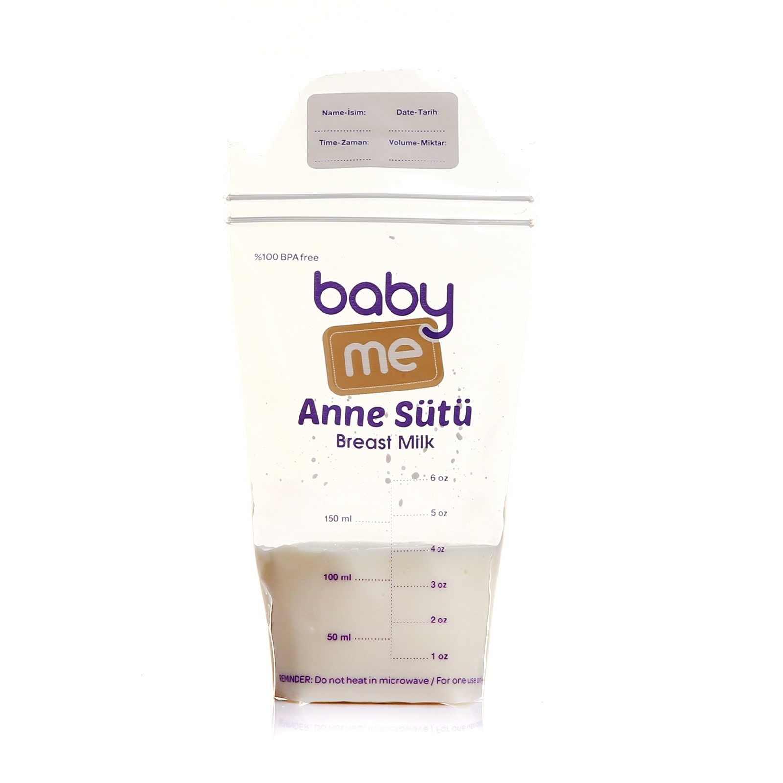 Ebebebek baby me bolsa de almacenamiento de leche madre 25 uds-Paquete de ventajas