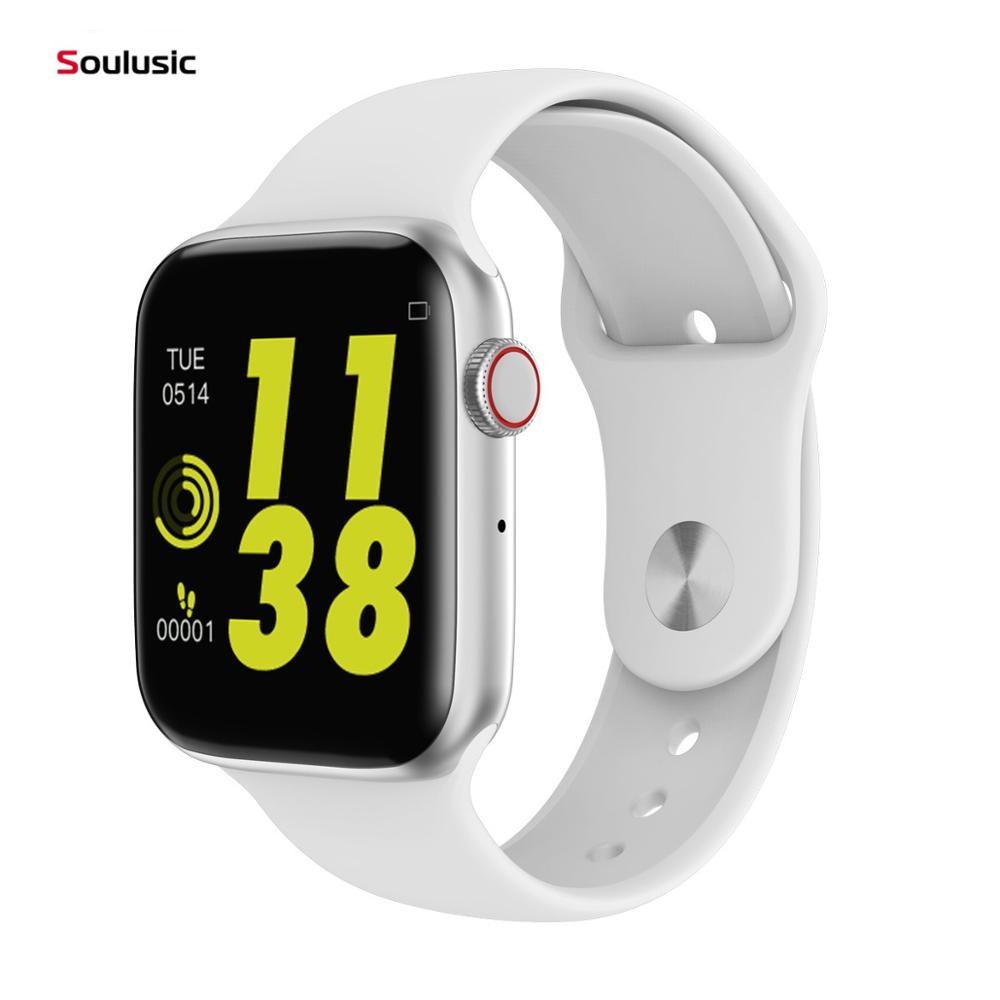 Soulusic IWO 8 Lite Bluetooth Call Smart Watch ECG Heart Rate Monitor W34 Smartwatch For Android IPhone Xiaomi PK Iwo 8 10