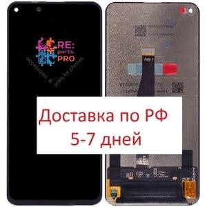 Display para huawei honor 20 pro/honor 20/nova 5 t + tela sensível ao toque (preto)