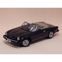 Car model FIAT 124 SPIDER miniature vehicle of Vintage automobile collection scale