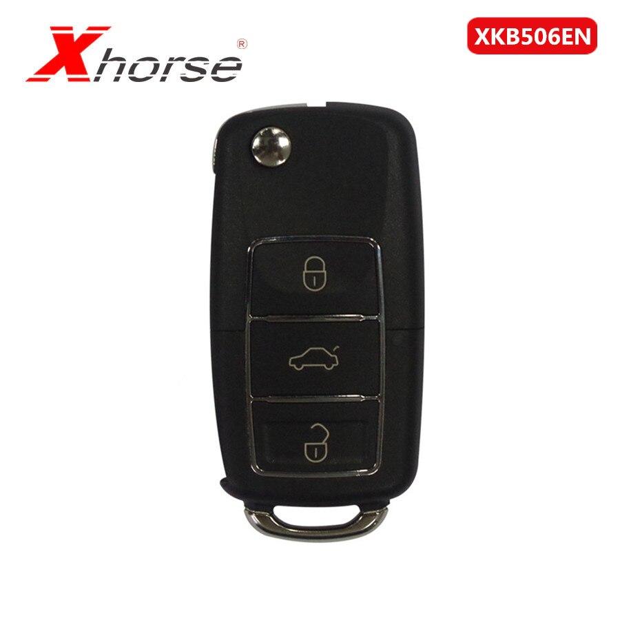 Xhorse VVDI2 XKB506EN Wire Remote Key 3 Buttons For VVDI VVDI2 Key Tool 1 Piece