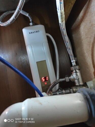 Chauffe-eau instantané 5500w pour salle de bain ou cuisine