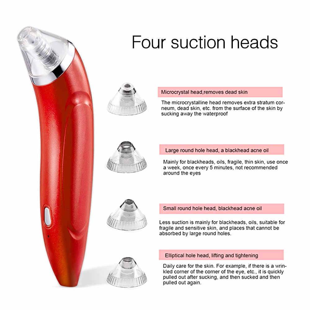 Facial Komedo Remover Vacuum Kulit Mati Jerawat Pori Mengupas Perangkat Menyedot Komedo Hitam Titik Cleaning Alat Perawatan Kulit
