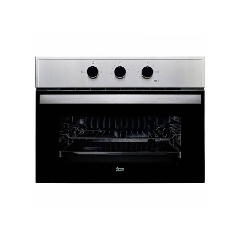 Conventional Oven Teka HBC 535 SS 48 L LED Display 2593W Stainless Steel Black