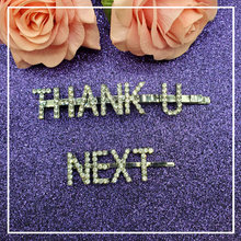Заколки для волос «thank u next» 2 шт/компл