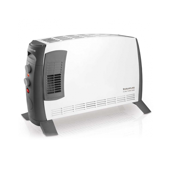 Electric Convection Heater Taurus Clima Turbo 2000W White