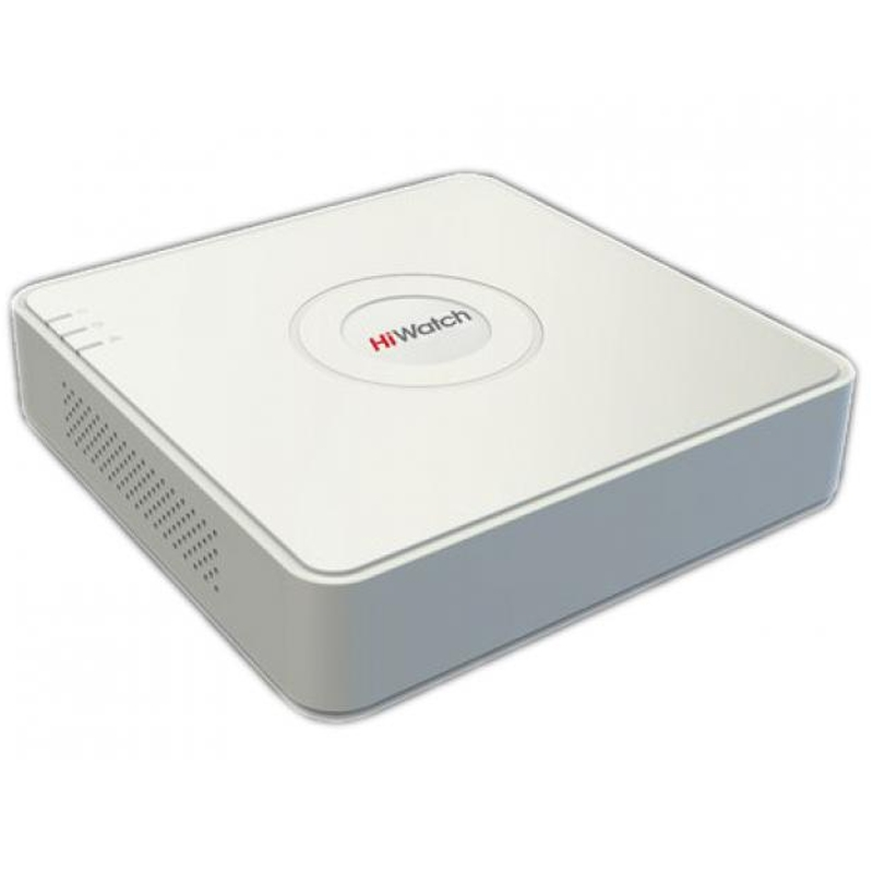 HiWatch DS-H208QA гибридный 8-и канальный регистратор c AoC, P2P Cloud, HD-TVI, AHD и CVI камер + 2 IP-канала