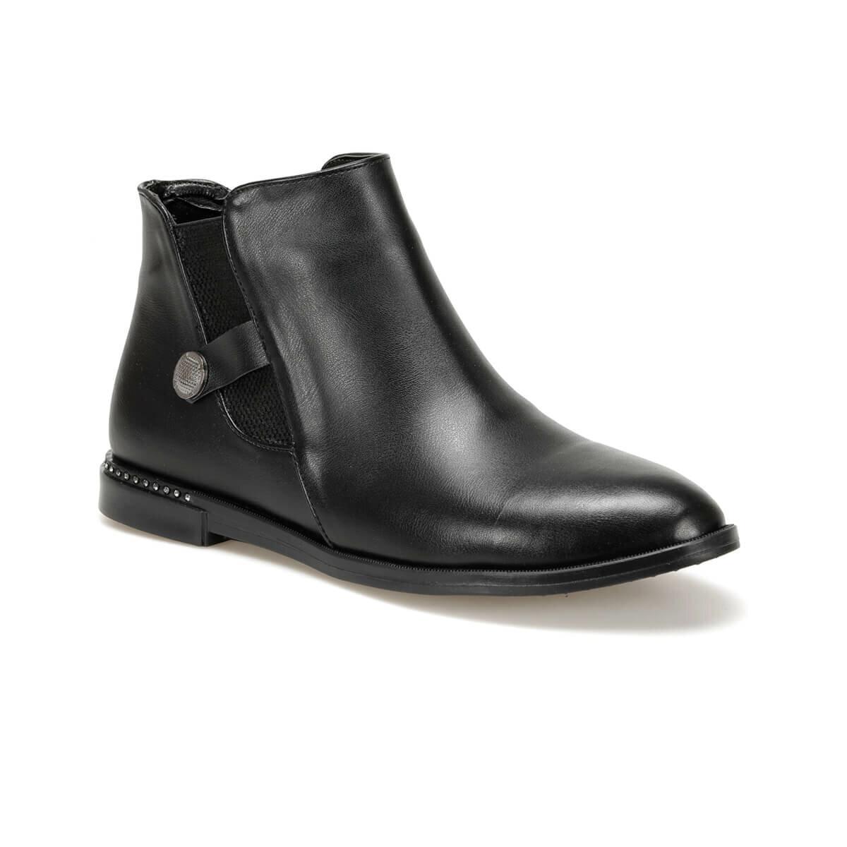 حذاء بوت نسائي FLO MARC85Z باللون الأسود من BUTIGO