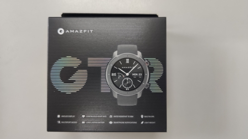 In Stock Global Version New Amazfit GTR 42mm Smart Watch 5ATM Smartwatch 12Days Battery Music Control For Android IOS|Smart Watches|   - AliExpress