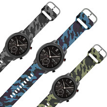 Correa de recambio para reloj inteligente amazfit gtr, 47mm, recambio para reloj inteligente GTR / STRATOS/PACE, silicona flexible con cierre de metal
